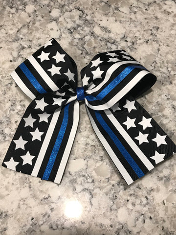 Thin Blue Line Bow