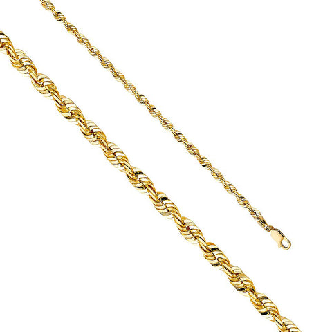 Rope Gold Chains