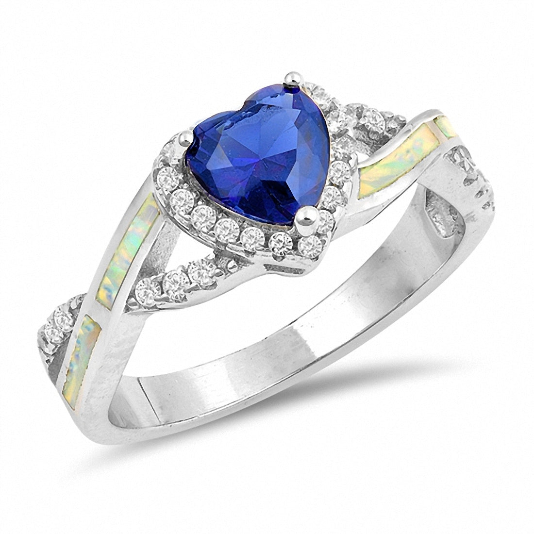 for white rings cut promise lajerrio round sterling sapphire silver jewelry her ring