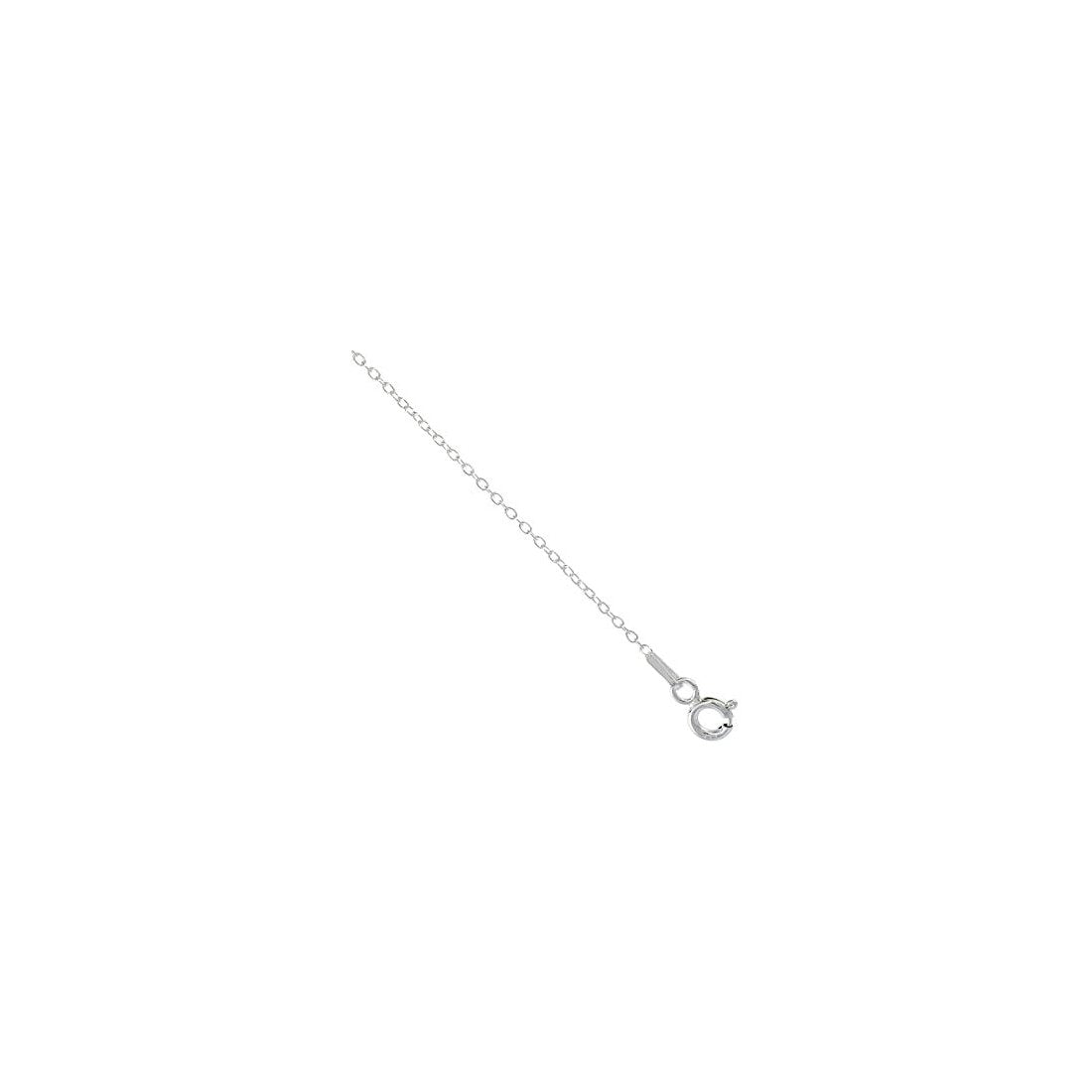 "0.6MM Cable Chain .925 Solid Sterling Silver Sizes ""14-24"""