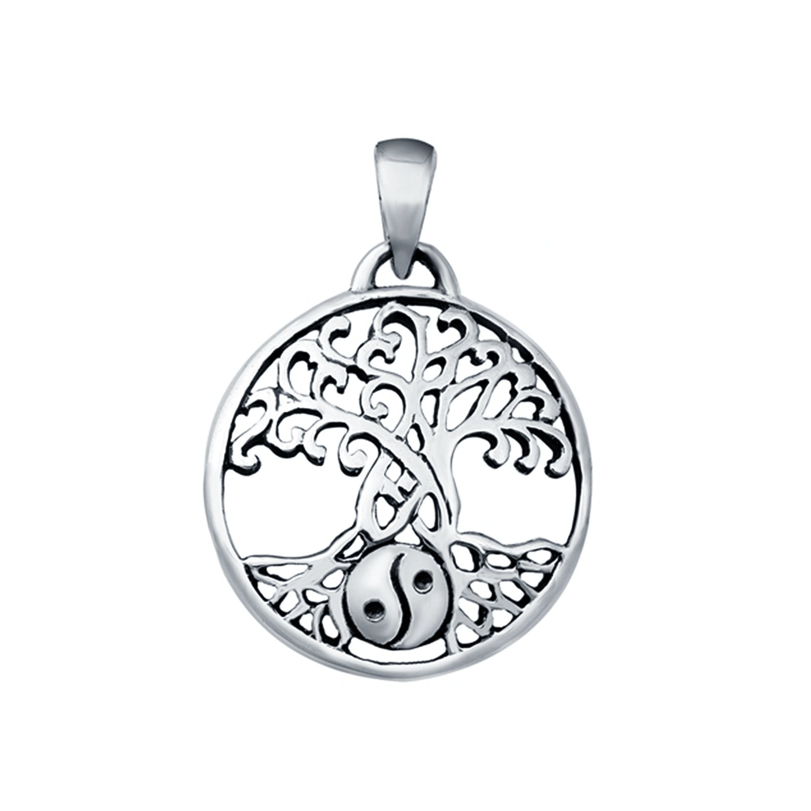 925 Sterling Silver Tree of Life Pendant, Charm Pendant