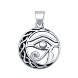 Eye of Horus Pendant Charm Fashion Jewelry 925 Sterling Silver