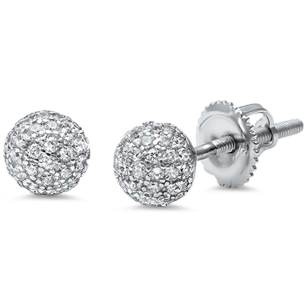 ti earrings sento sterling cubic studs view the zirconia jewellers l pascoes stud silver larger