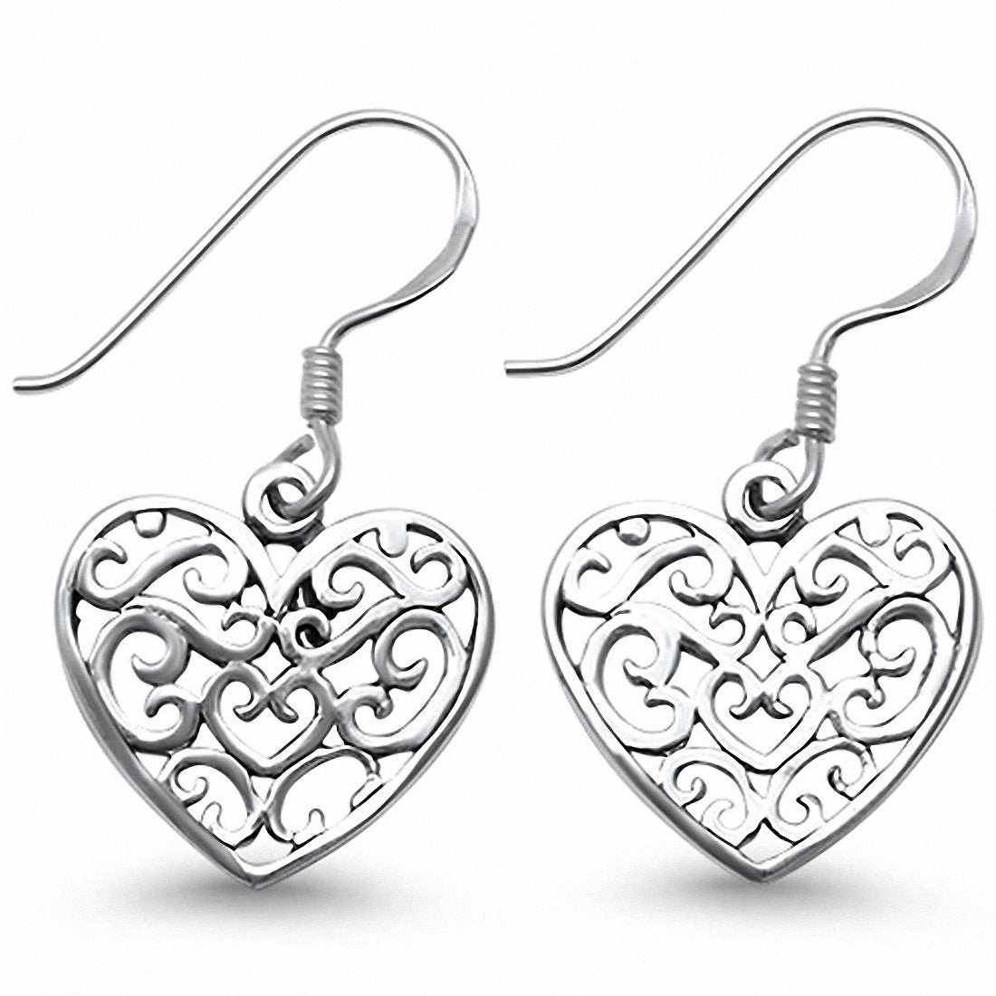 2ac112e28 ... Earrings 925 Sterling Silver Fish Hook Choose Color. Tap to expand