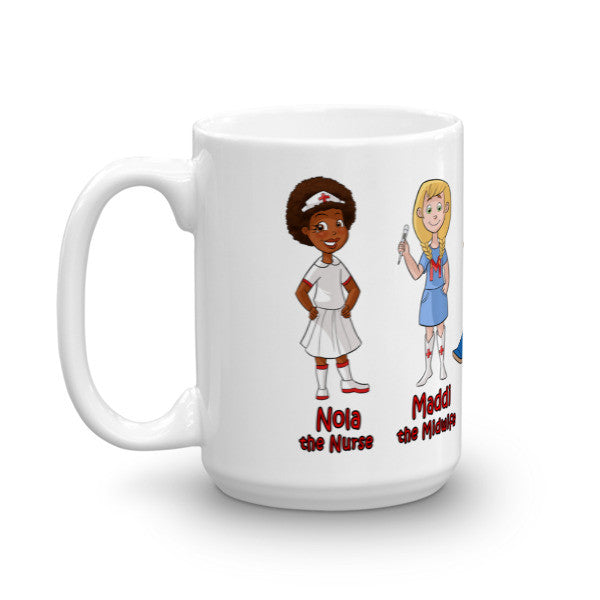Nola The Nurse & Friends Coffee or Tea Mug