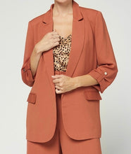 Terracotta Blazer Set