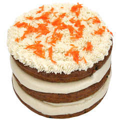 Gluten Free Vegan Simple Carrot Cake
