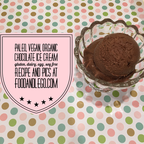 Free and Friendly Foods Paleo Chocolate Ice Cream