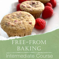 *Presale* Free From Baking Intermediate Class (Gluten Free, Top 8 Free, Vegan)