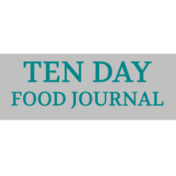 10 Day Food Journal