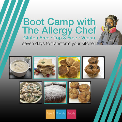 Boot Camp 6/8 thru 6/14 - Top 8 Allergy Free, Gluten Free, Vegan