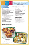 Salted Caramel Nut Brownies Recipe Kit Card