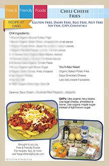 Kit Card - Chili Cheese Fries