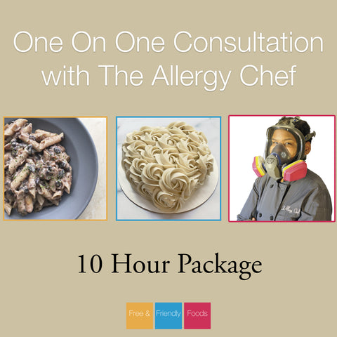 10 Hour Consultation Package with The Allergy Chef