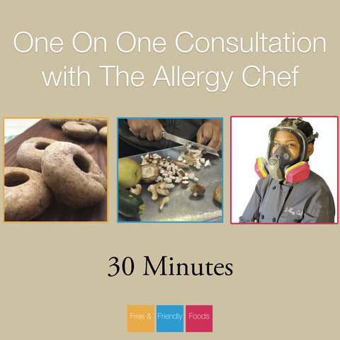 30 Minute Consultation with The Allergy Chef