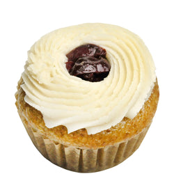 Cherry Vanilla Mini Cupcake Gluten Free, Top 8 Allergy Free, Vegan