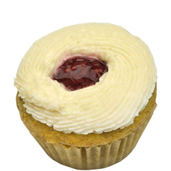 Raspberry Lemonade Mini Cupcake ~ Gluten Free, Vegan, Top 8 Allergy Free, Dairy Free, Egg Free