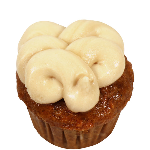 Mini Cupcake 12 Pack - Maple Carrot Cake