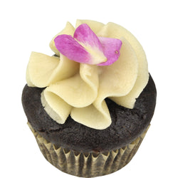 Mini Cupcake 24 Pack - Chocolate Rose