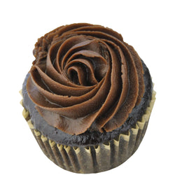 Gluten Free, Vegan, Chocolate Buttercream Mini Cupcake