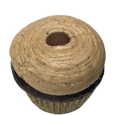 Mini Cupcake 6 Pack - Coffee Bean
