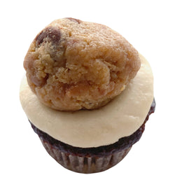 Mini Cupcake Single - Cookie Dough