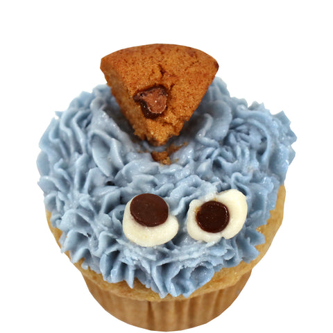Mini Cupcake Single - Cookie Monster