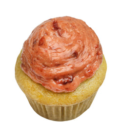 Lemon Strawberry Mini Cupcake ~ Top 8 Allergy Free, Vegan, Gluten Free, Soy Free