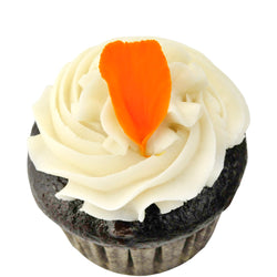 Orange Blossom Mini Cupcake ~ Vegan, Gluten Free, Dairy Free, Egg Free, Nut Free, Top 8 Allergy Free