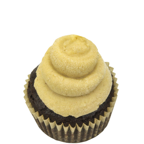 Mini Cupcake Single - Pumpkin Chocolate