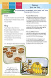 Kit Card - Paleo Pecan Pie and Paleo Pumpkin Cheesecake