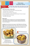 Popcorn Chicken Bites Recipe Kit Card