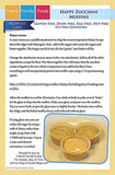 Happy Zucchini Muffin Recipe Kit Card