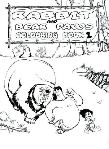 Colouring Activity Book One