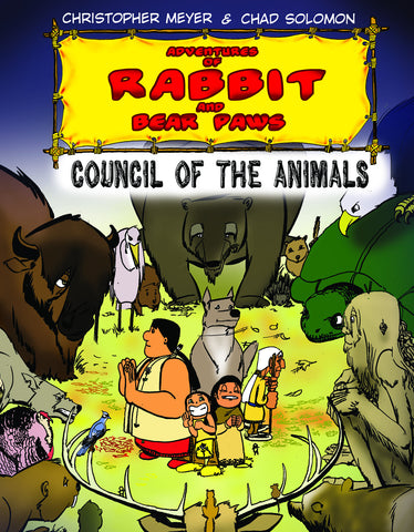 Adventures of Rabbit and Bear Paws: Council of the Animals