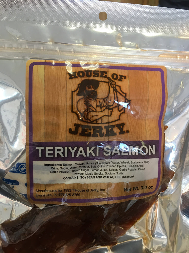 Salmon: Teriyaki 3oz