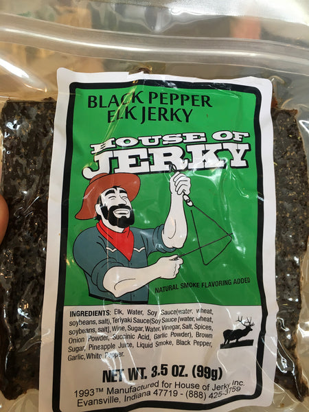 Elk: Black Pepper 3.5oz