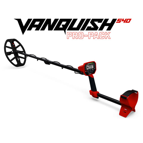 Minelab Vanquish 540 Pro-Pack Metal Detector - Pre-Order Only