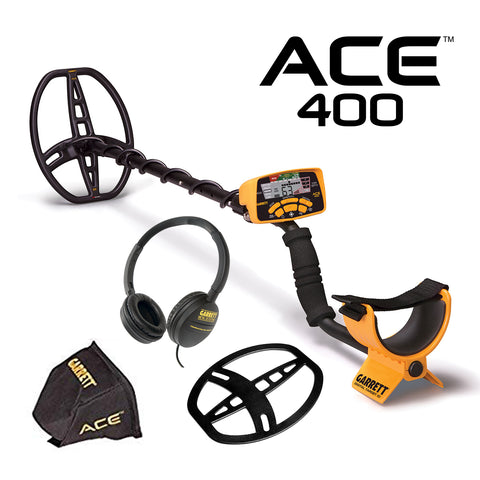 Garrett ACE 400 Metal Detector - Dig That Beep