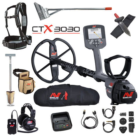 Minelab CTX 3030 Metal Detector - Dig That Beep
