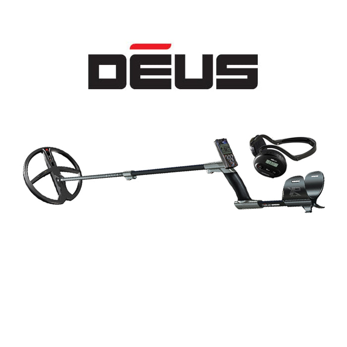 "XP DEUS With WS4 Backphone Headphones + Remote + 11"" X35 Coil - Dig That Beep"