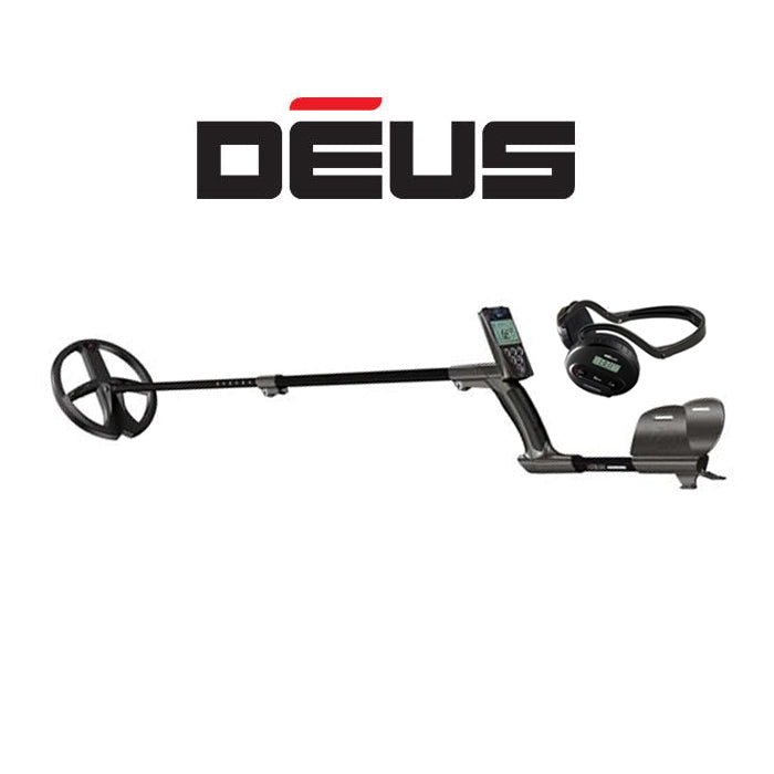 "XP DEUS With WS4 Backphone Headphones + Remote + 9"" X35 Coil - Dig That Beep"