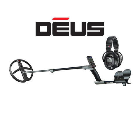 "XP DEUS With WS5 Full Sized Headphones + Remote + 11"" X35 Coil - Dig That Beep"
