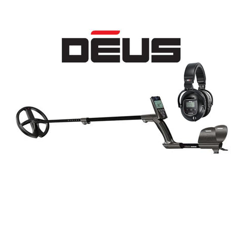 "XP DEUS With WS5 Full Sized Headphones + Remote + 9"" X35 Coil - Dig That Beep"