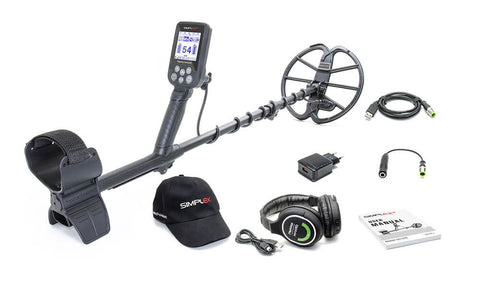 Nokta Makro Simplex+ Metal Detector With Wireless Headphones - Dig That Beep