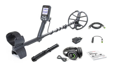 Nokta Makro Simplex+ Metal Detector Holiday Bundle, Free Pin Pointer