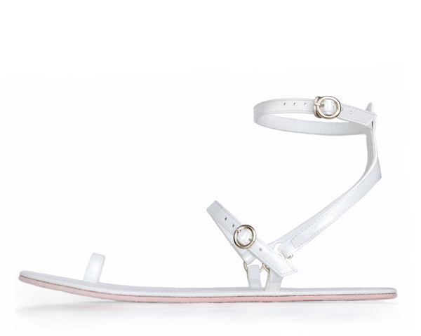 Sandal Nº3 – White Cloud Y-Strap