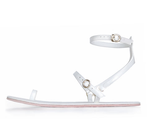 Sandale Nº3 | White Cloud Y-Strap