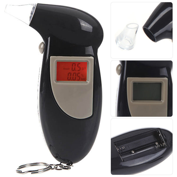 LCD Alcohol Breathalyzer