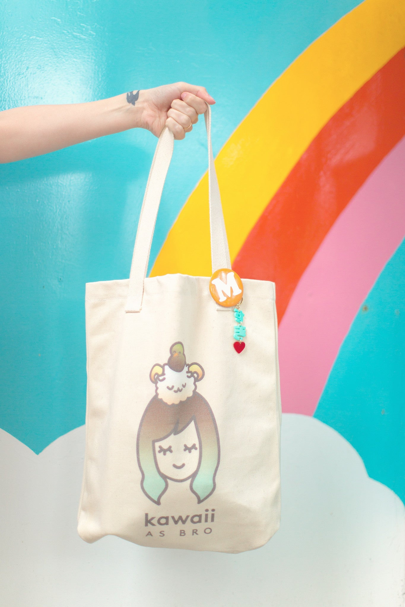 kawaii tote bag
